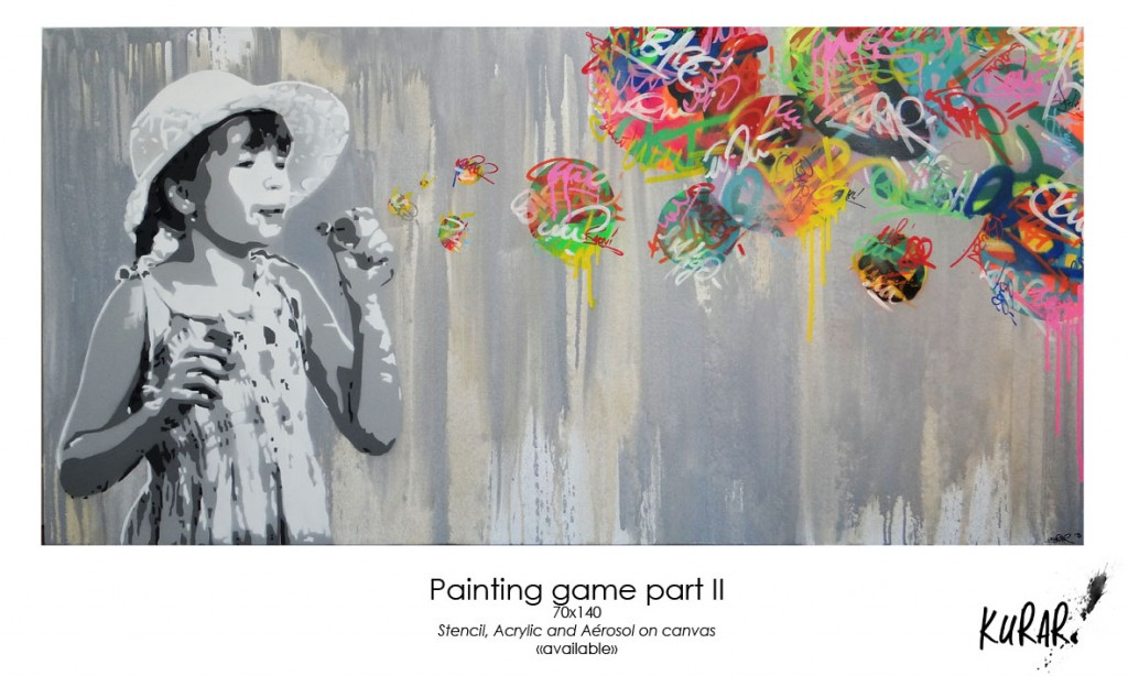 Painting game part II (70x140)