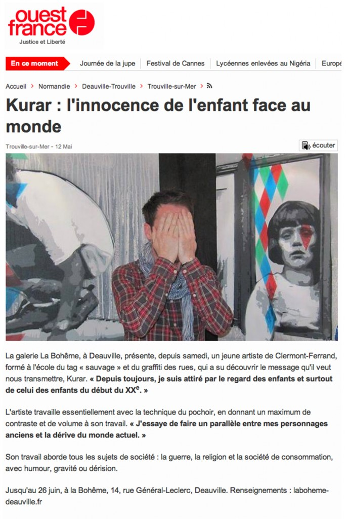 Article kurar ouest france