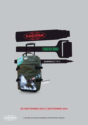 kurar eastpak tag my bag