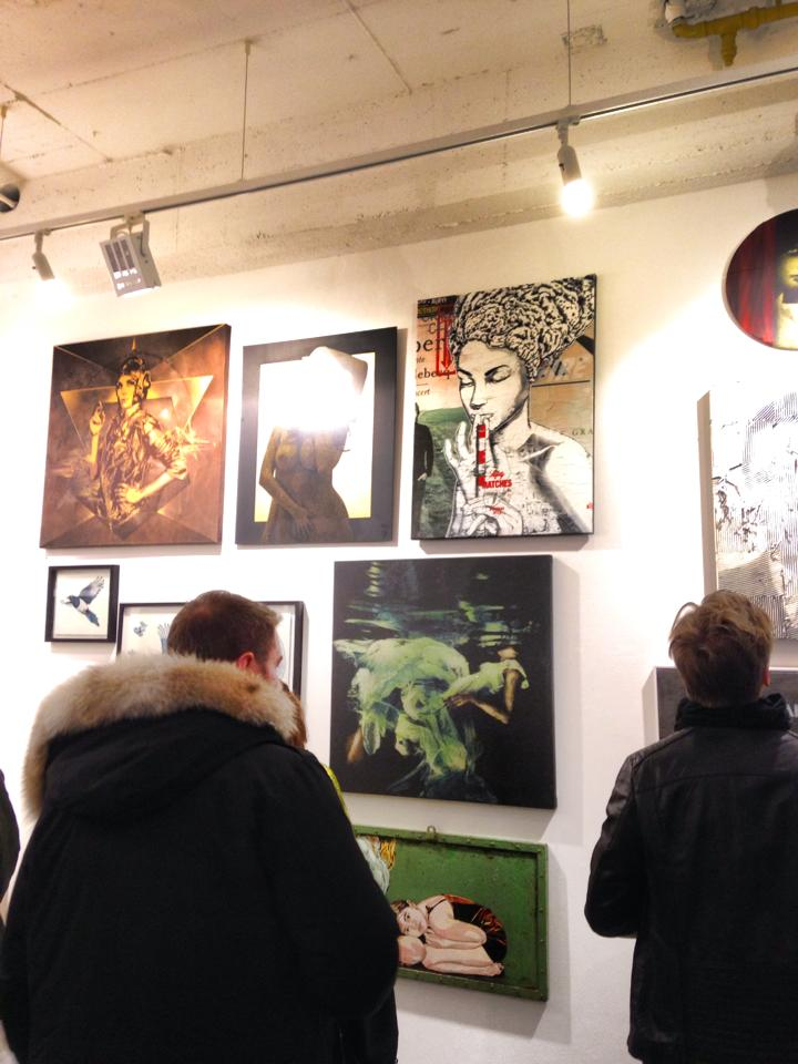 OPENING OF THE CUT IT OUT SHOW IN BERLIN