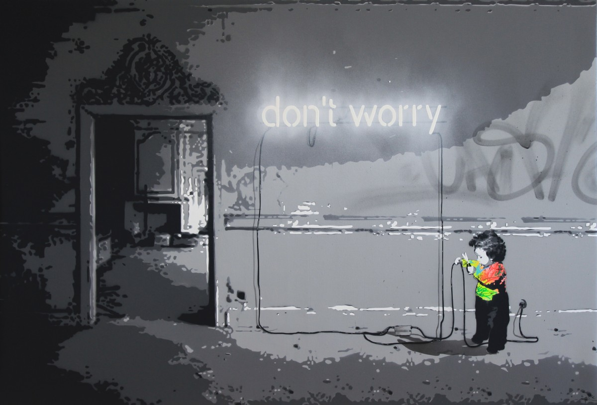 Don't worry 130x89cm