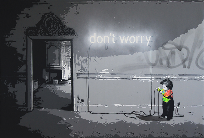 Don't worry / 130x89cm / 2016