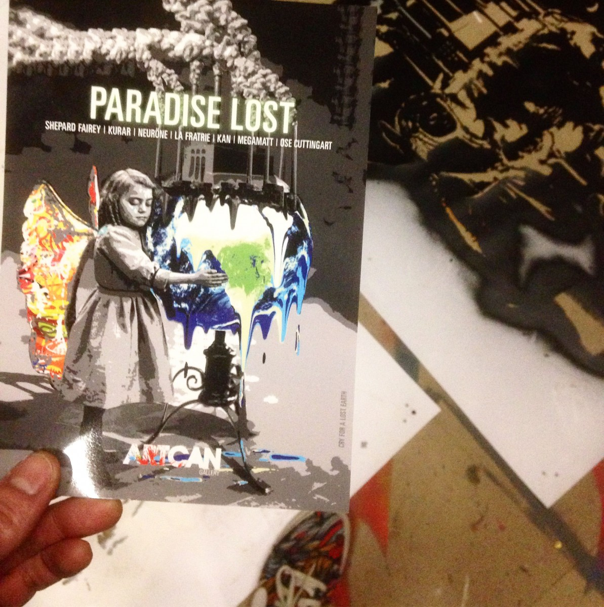 flyer paradise lost