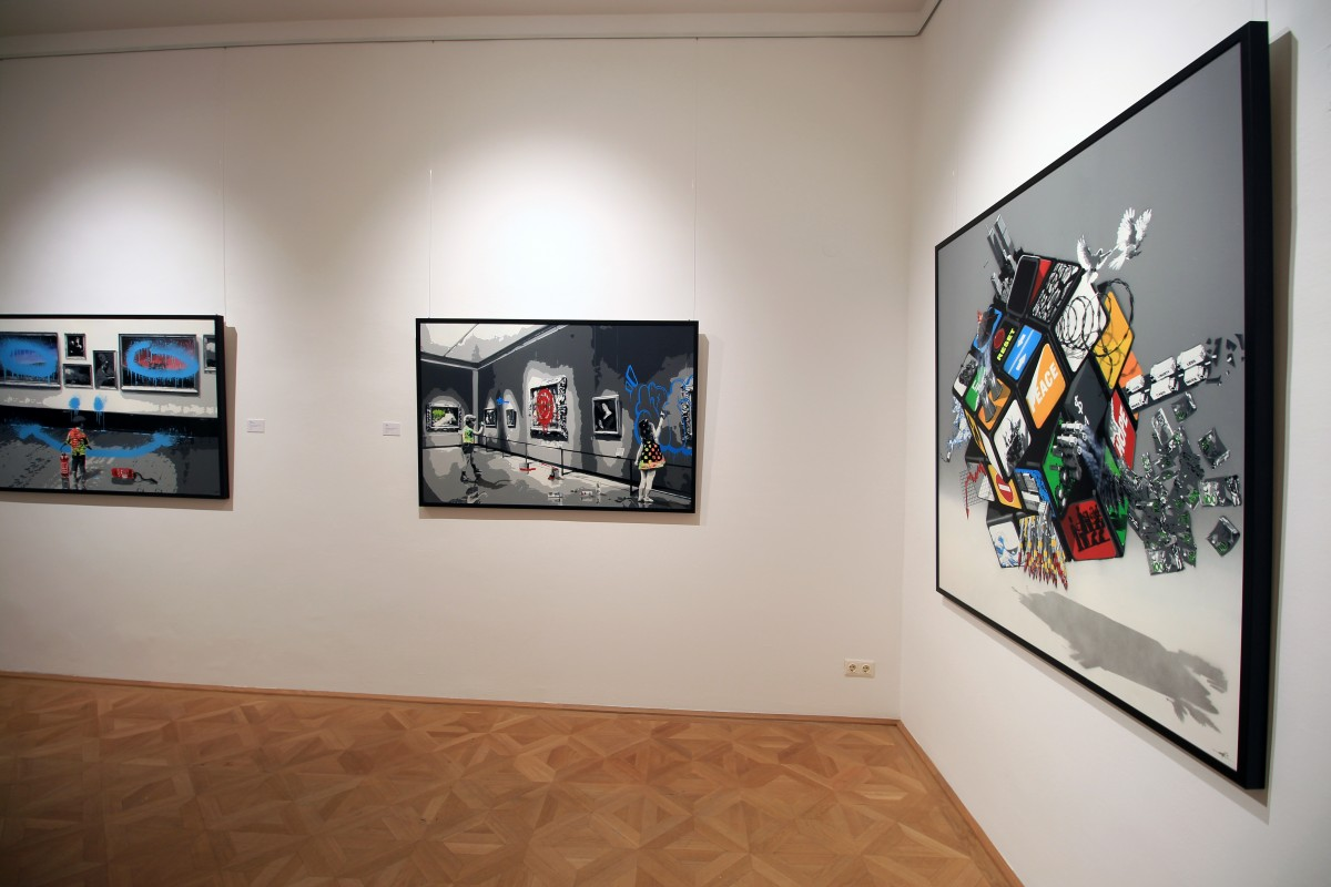 Solo show in Vienna AG18 Gallery